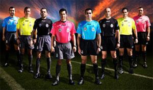 Equipamiento para árbitros