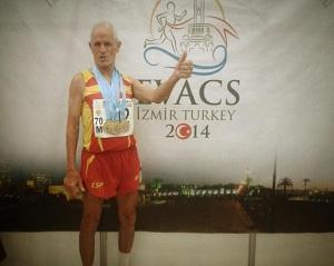Emilio De La Cámara, con 4 medallas de oro, brilla en el Europeo de Turquía