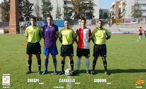 Gavà – Rubí 3a División Catalana con nuestro compañero Kilian Crespí