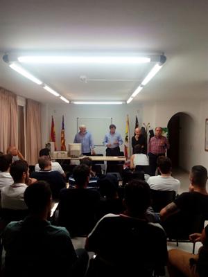 Reunión en la delegación de Eivissa