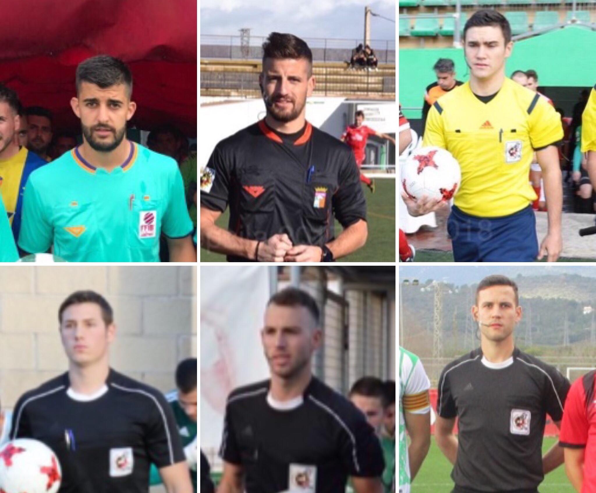 Talentos seleccionados para la primera fase del curso de Ascenso a Segunda División B.