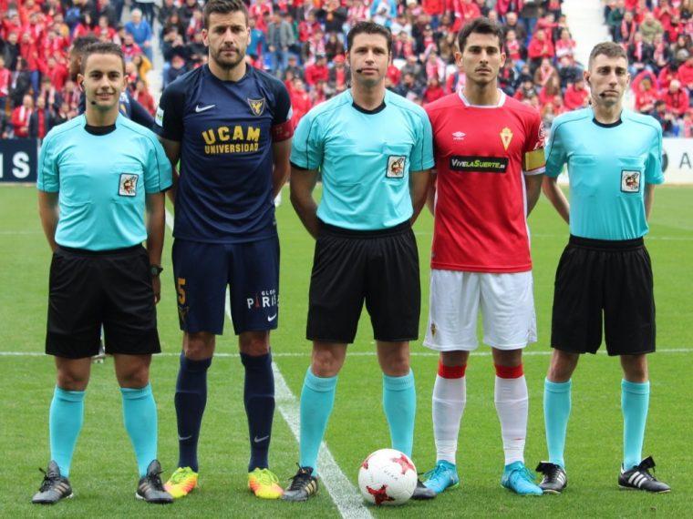 arbitros-derbi-murcia-ucam-segunda-division