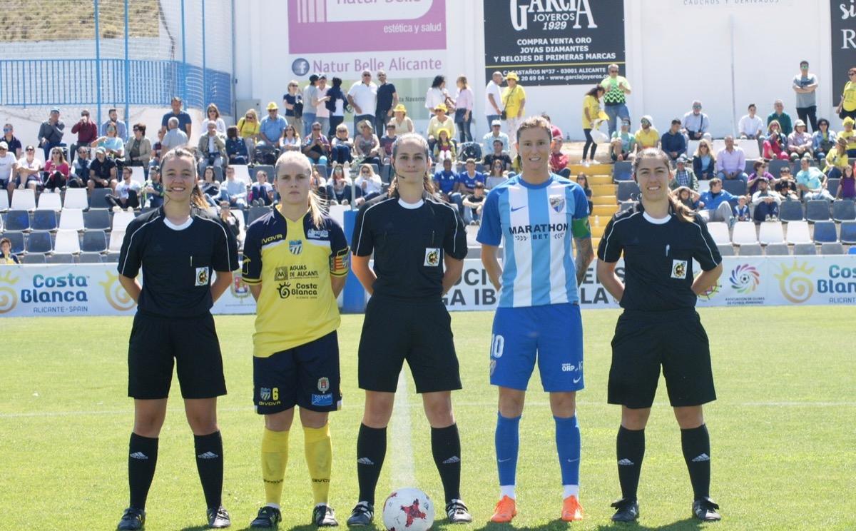 Amy Peñalver árbitra de Preferente en Fase de Ascenso a la Liga Iberdrola Femenina