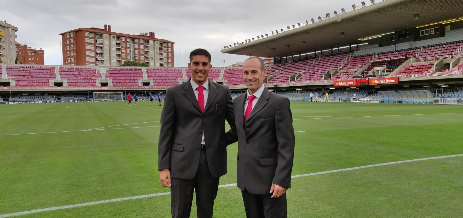 Debut en Segunda División B de Thierry con Sebastià Ripoll