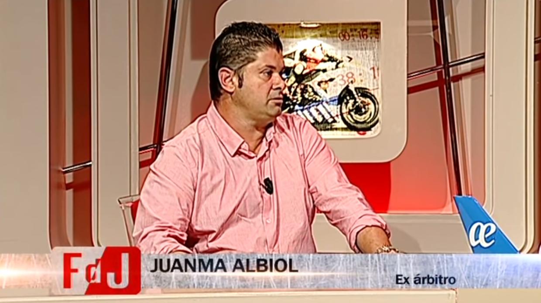 Juanma Albiol de entrevista en Canal 4 televisión