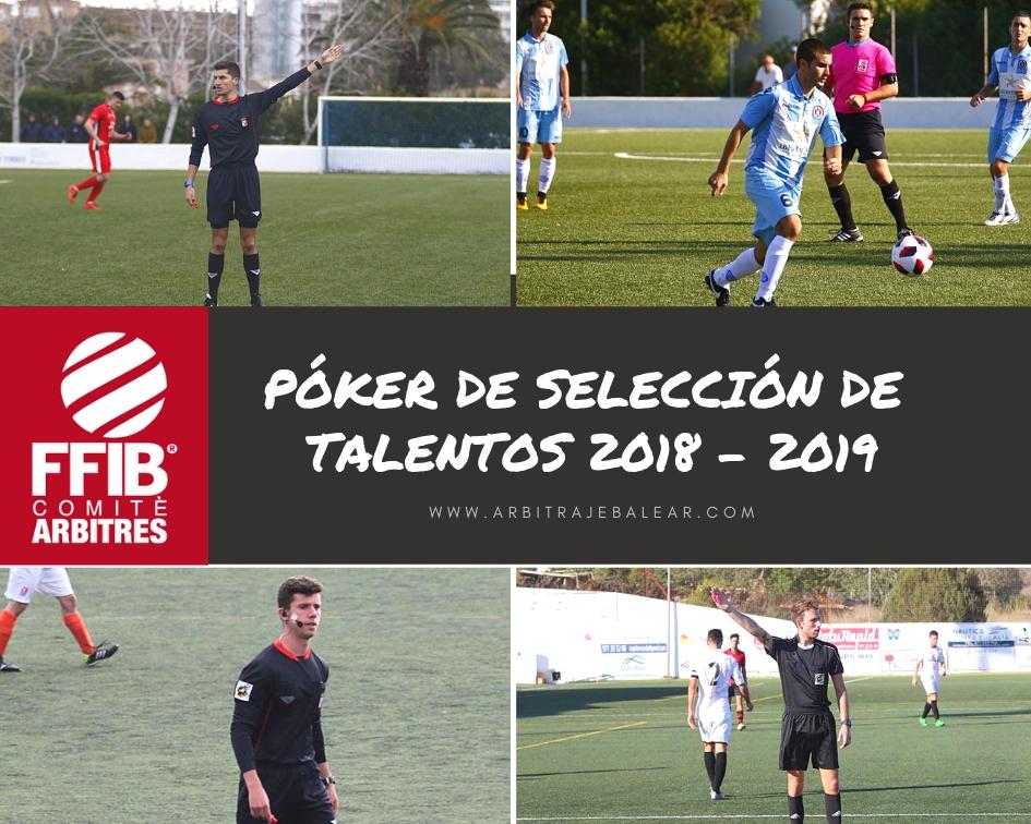 Selección de talentos: Temporada 2018 – 2019