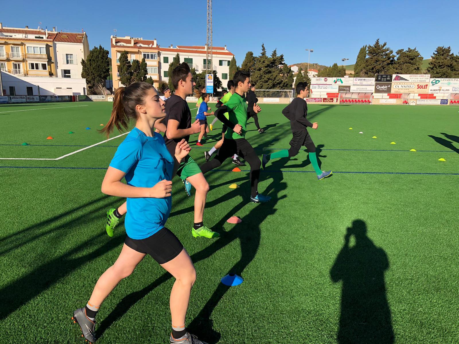 Últimas pruebas físico – técnicas para los cursillistas de Menorca