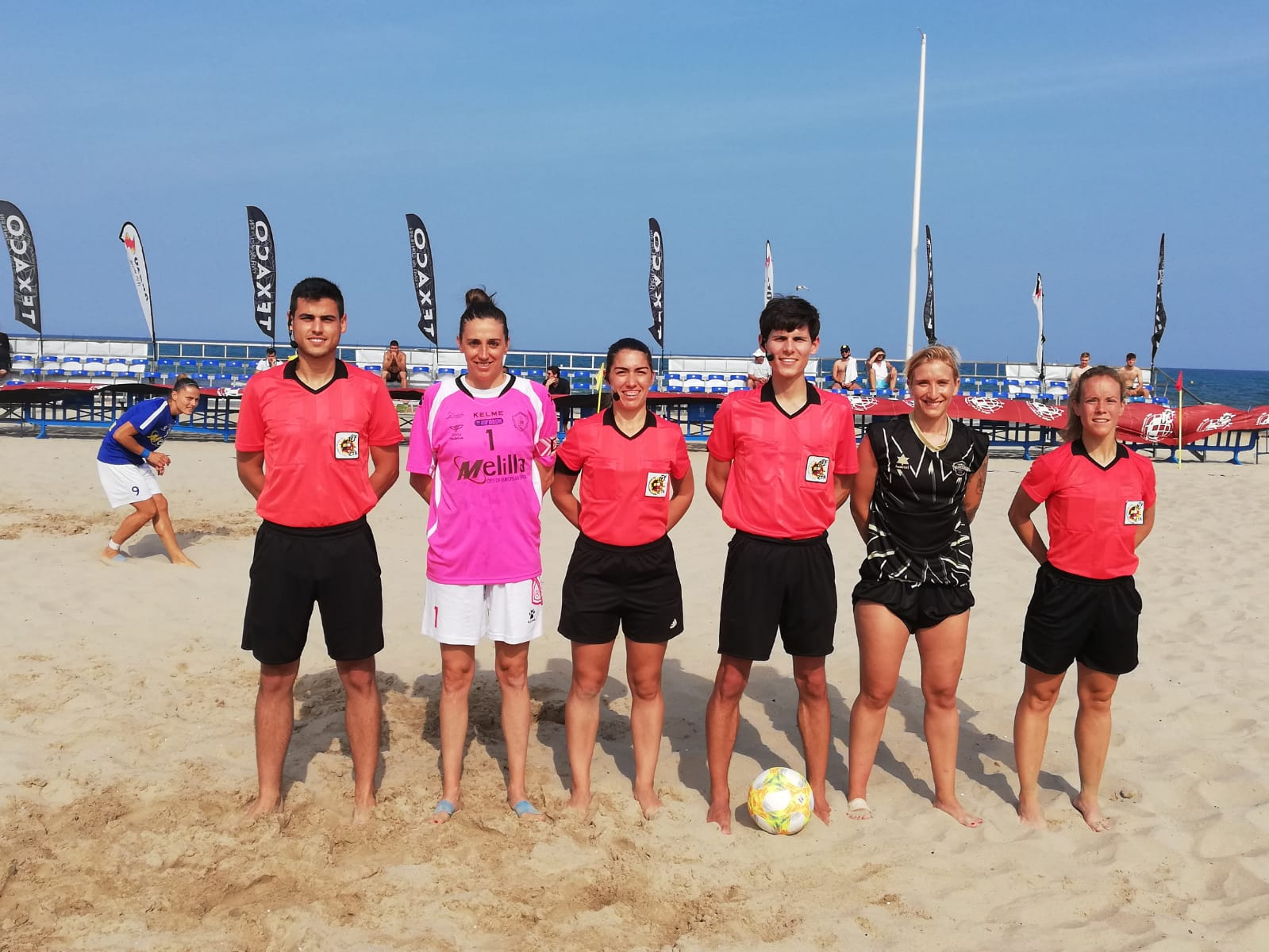 Joana en la Copa RFEF de fútbol playa