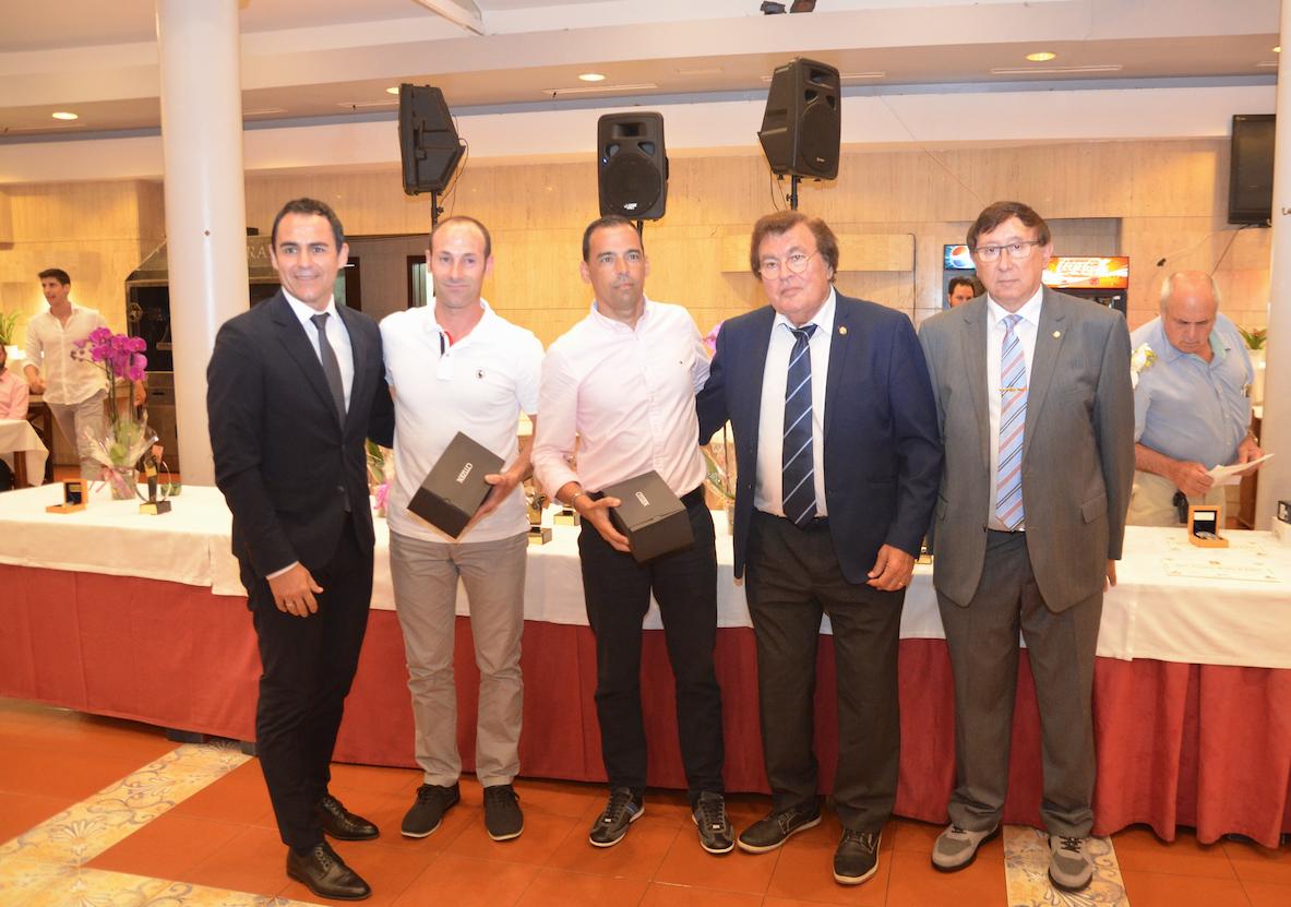 Día del árbitro 2019 con la visita del Presidente Carlos Velasco Carballo.