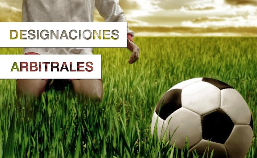 Designaciones Arbitros
