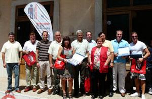 Premiados en las VII Jornadas Arbitrales 2010