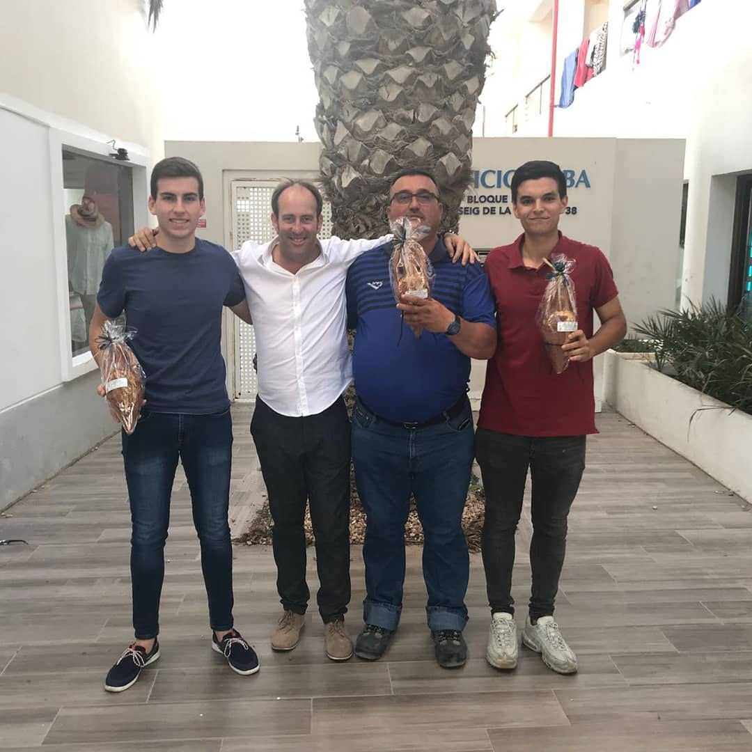 Entrega de premios para nuestros árbitros en la fiesta del Fútbol Pitïuso