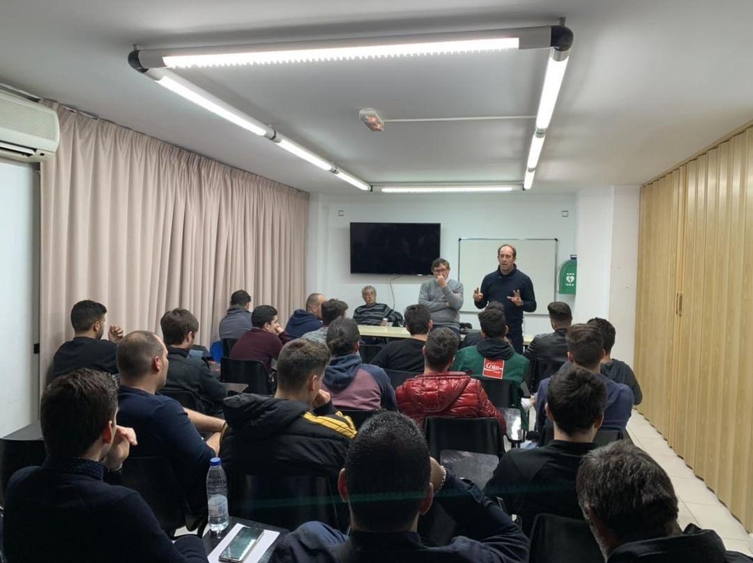 Visita del Presidente a la delegación de Ibiza y nuevo curso para árbitros